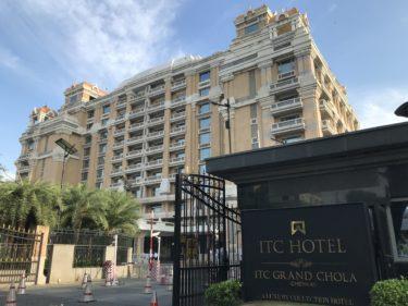【インド】国内で3番めに大きいホテルITC Grand Chola宿泊記!アクセスやホテル内の様子など
