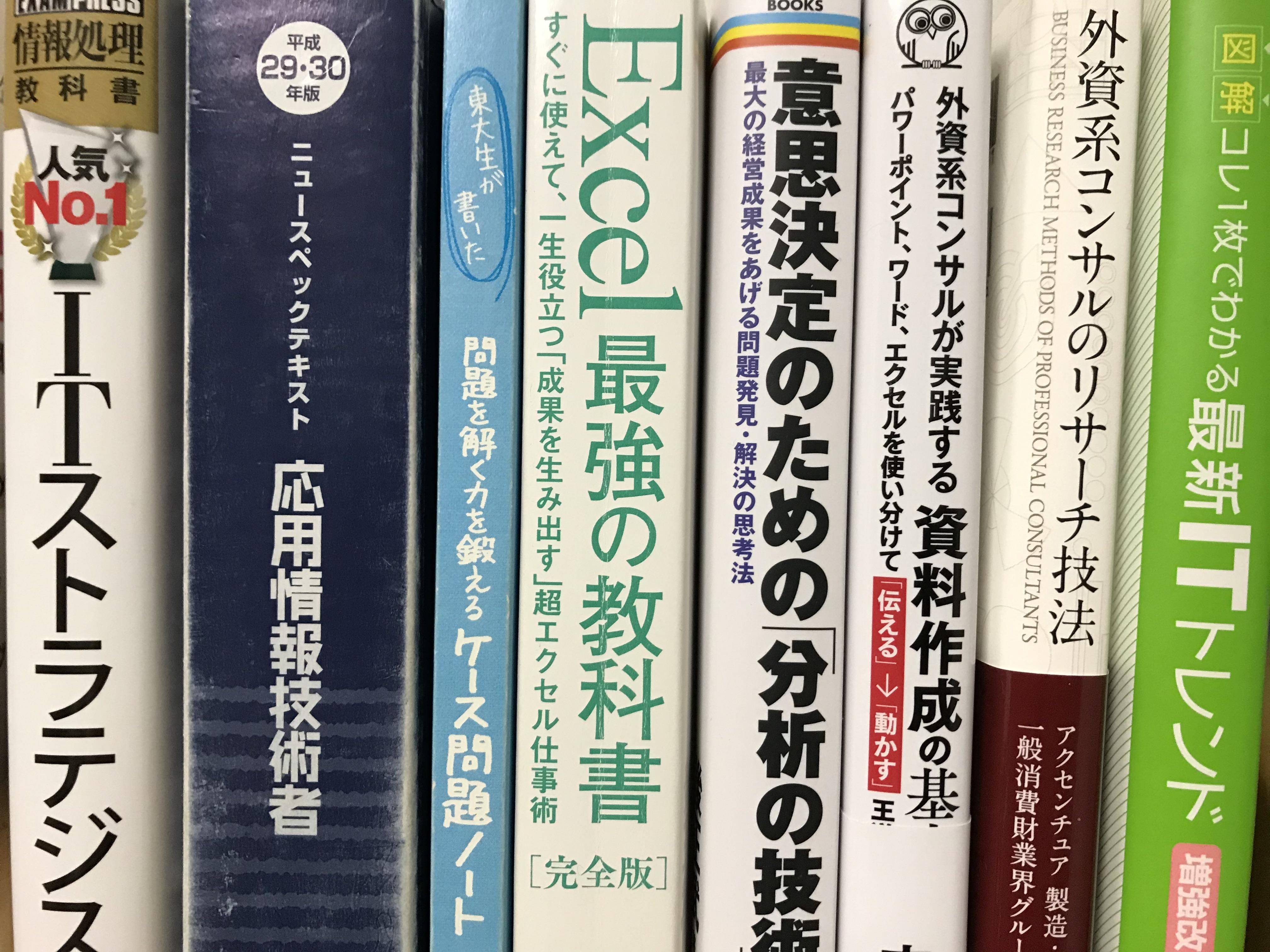 外資系コンサルがオススメする書籍6選!新卒も転職志望者も活躍したいなら必読です
